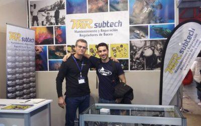 MRsubtech con el campeón del mundo de fotografía submarina Rafael Fernández.